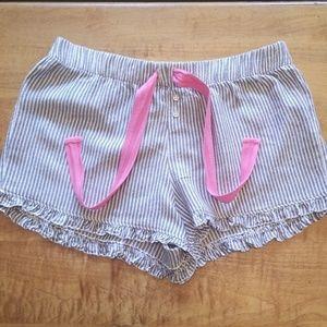 Jenni ruffled pajama shorts